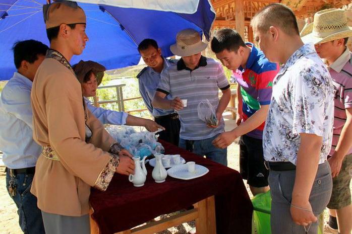 银川旅游景区水洞沟2012年端午节活动