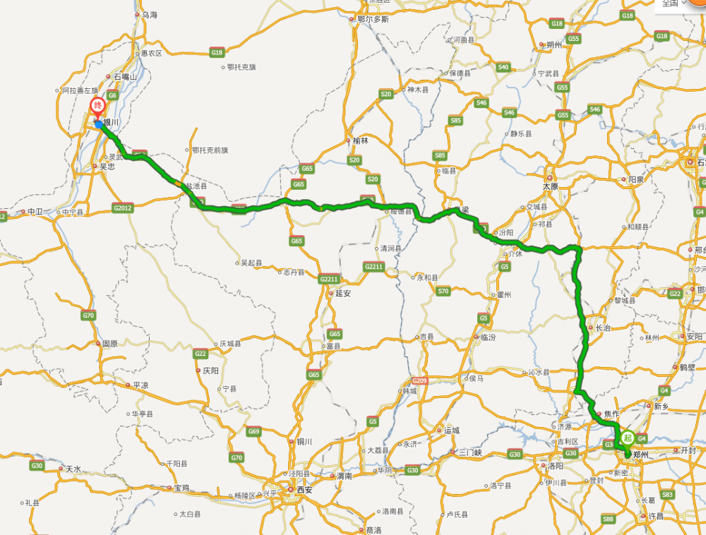 郑州到银川旅游线路和攻略