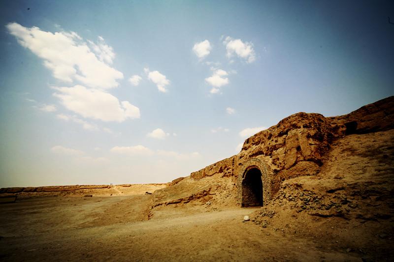 宁夏旅游景点水洞沟红山堡