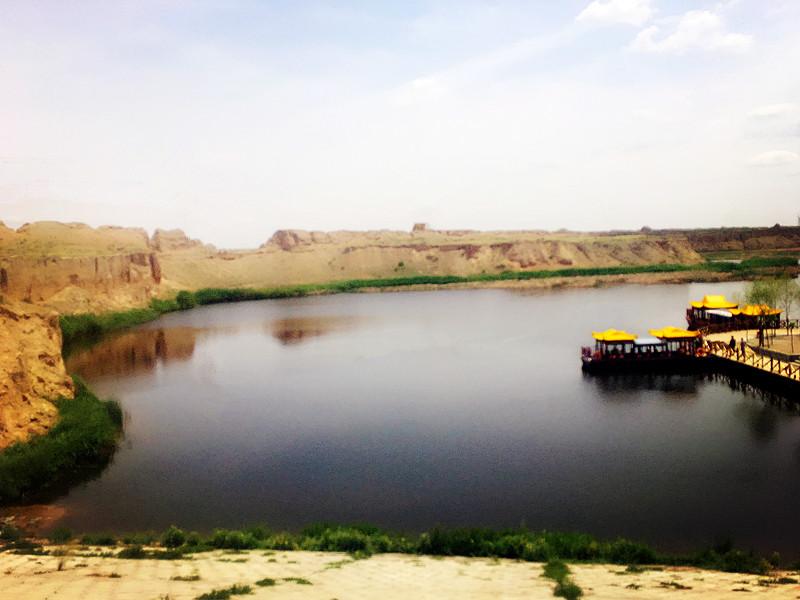 银川旅游景点水洞沟红山湖