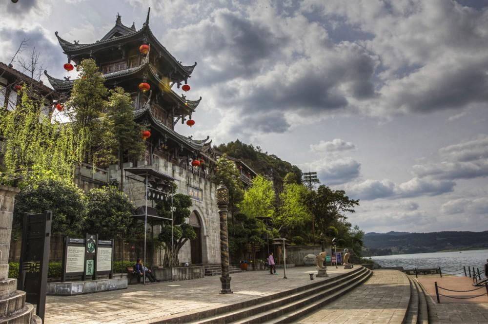四川阆中古镇-中国西部旅游必去景点 来宁夏旅游不可错过的地方