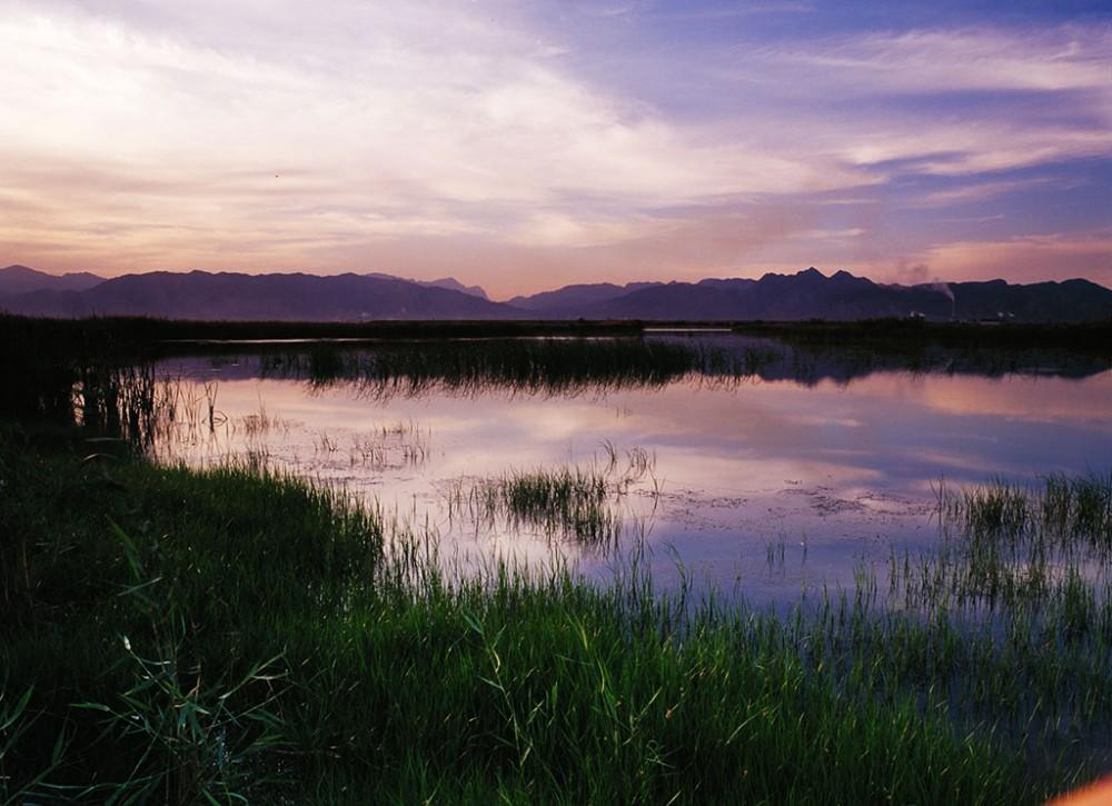 星海湖美景