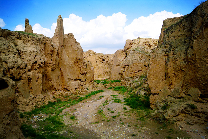 宁夏旅游水洞沟神秘大峡谷