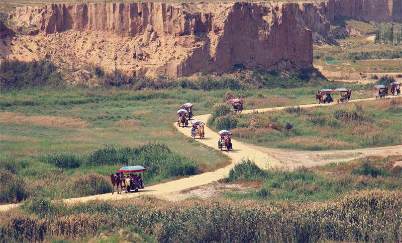 宁夏旅游景点:十年水洞沟