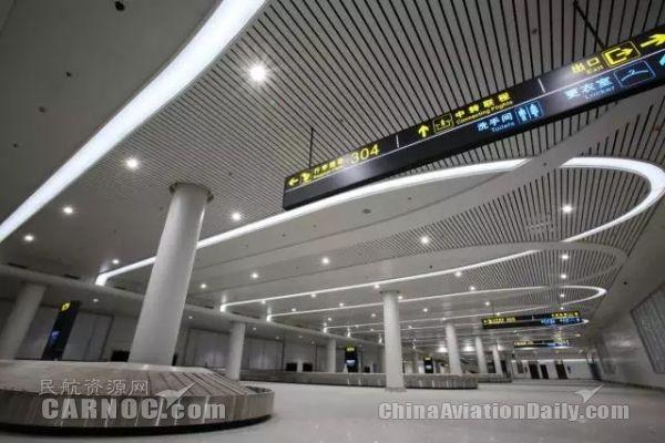 银川T3航站楼行李传送带