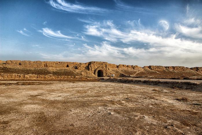 银川旅游景点必游水洞沟红山堡