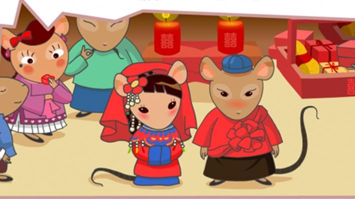 汉族风俗简笔画