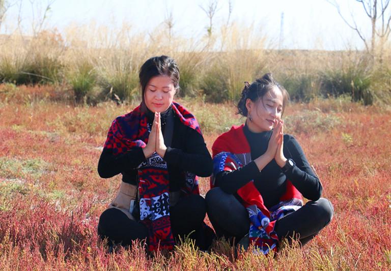 宁夏旅游景点水洞沟女人节活动