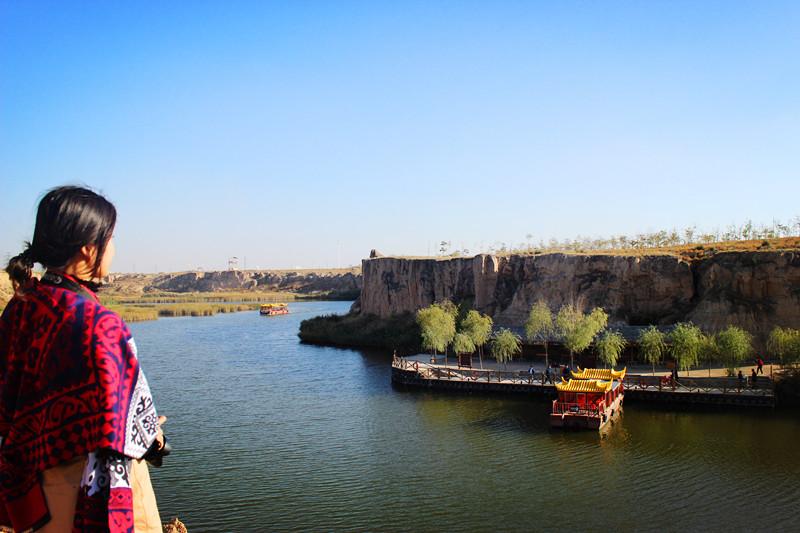 银川旅游水洞沟红山湖