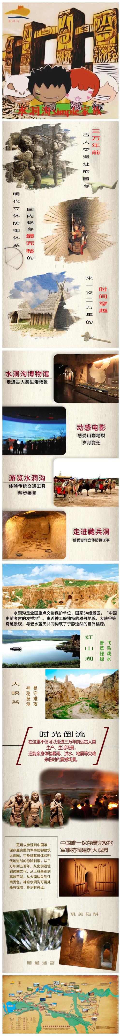 宁夏银川旅游水洞沟介绍