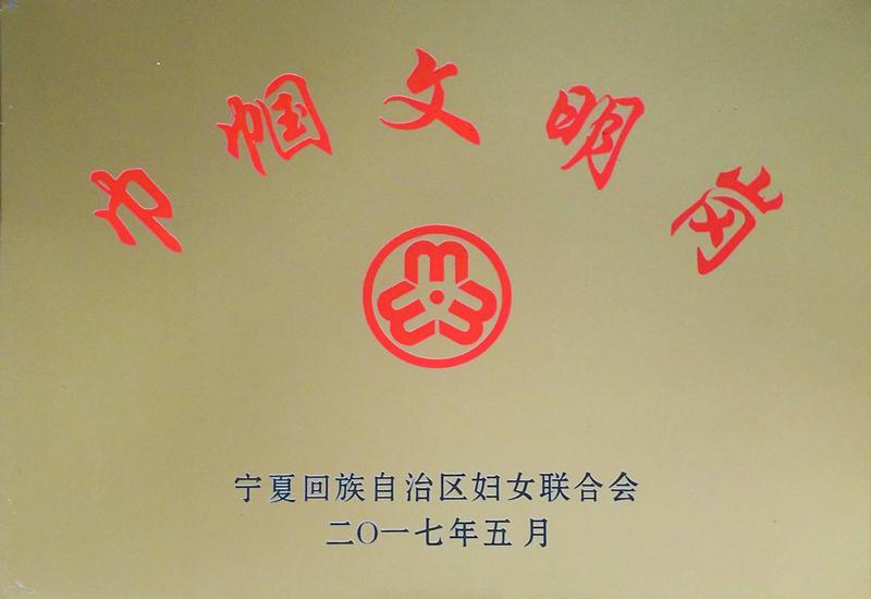 """宁夏旅游景点水洞沟接待部荣获""""自治区巾帼文明岗"""""""