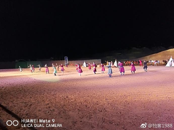 银川旅游景点水洞沟北疆天歌夜场