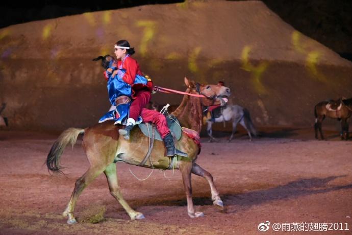 银川旅游攻略夜游水洞沟北疆天歌夜场演出