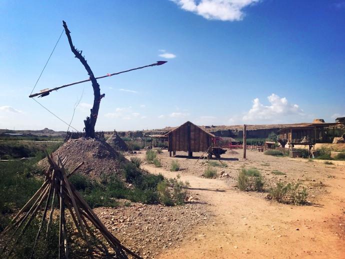 宁夏银川旅游水洞沟远古家园