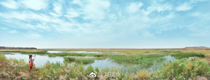 宁夏旅游水洞沟美景