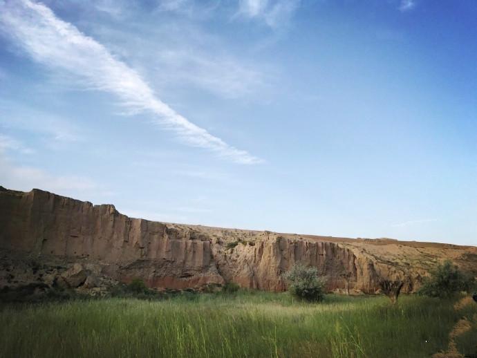 银川旅游攻略水洞沟夏季风光