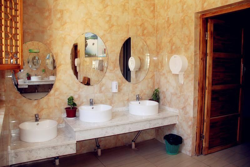 宁夏银川水洞沟旅游区豪华厕所
