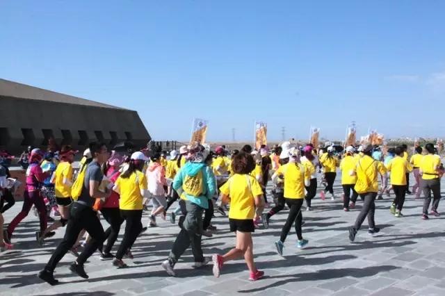 宁夏水洞沟旅游景区举办定向越野公开赛