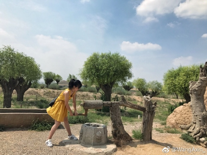 银川旅游水洞沟遗址水洞沟村