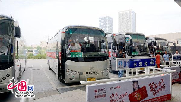 宁夏全域旅游集散中心开通水洞沟旅游直通车