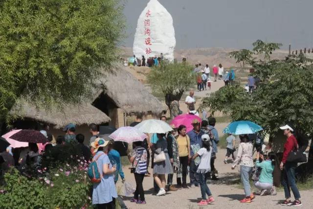 宁夏旅游景点水洞沟遗址