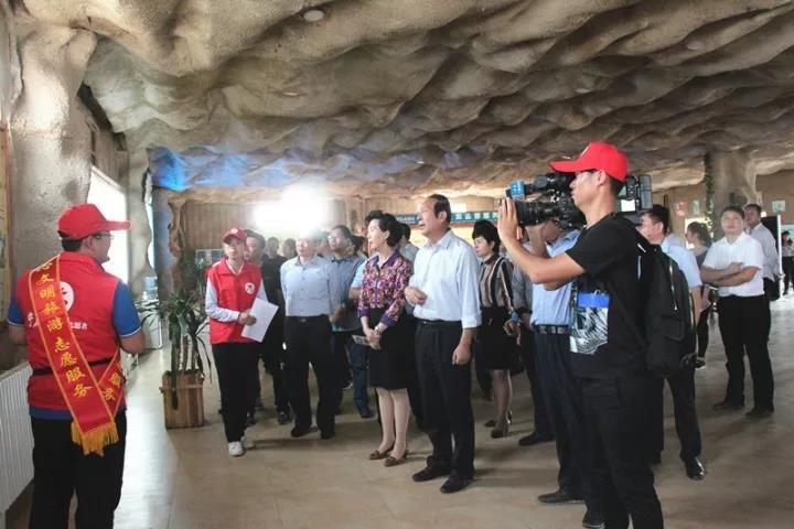 宁夏水洞沟志愿服务