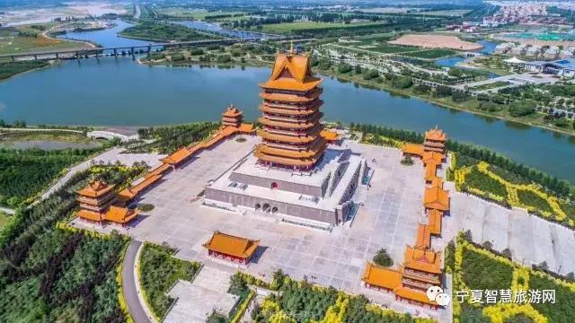 宁夏青铜峡中华黄河楼