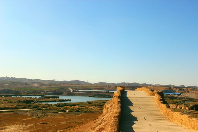 宁夏旅游水洞沟景区