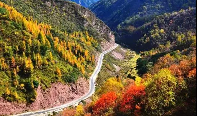 宁夏胜利之山六盘山