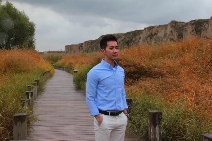 台湾旅游达人来宁夏水洞沟旅游