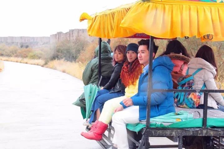 台湾旅游达人来宁夏银川水洞沟旅游