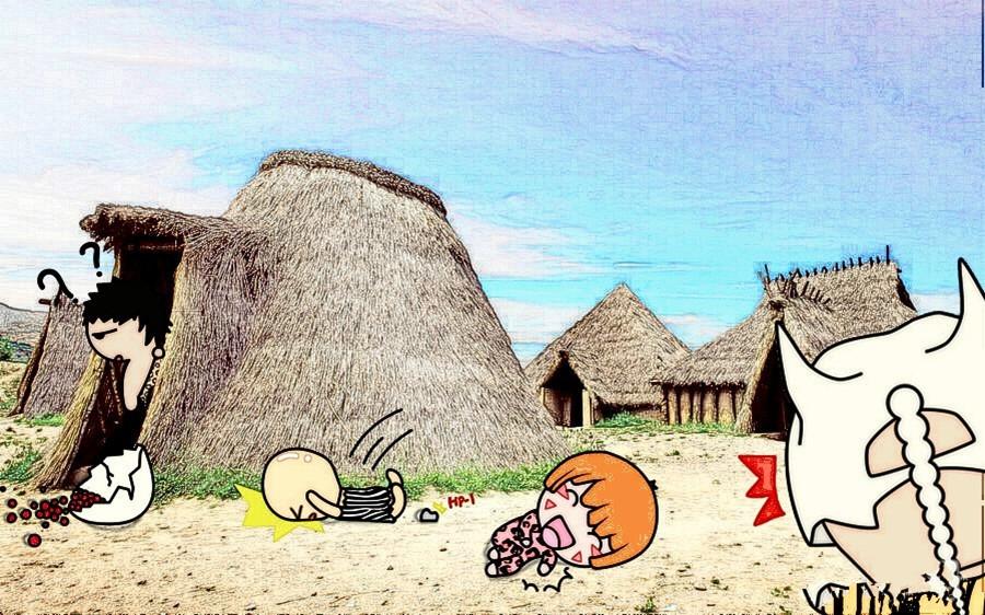 旅游景象画儿童