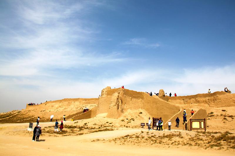 宁夏旅游景点——水洞沟遗址