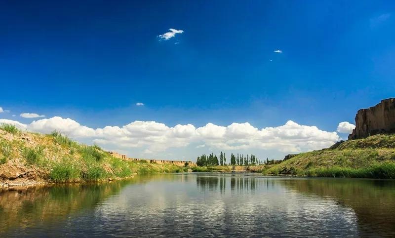 银川旅游景区水洞沟