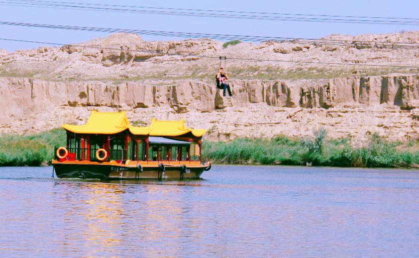 宁夏旅游景区水洞沟