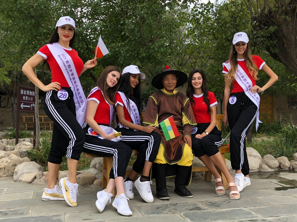 银川旅游景点水洞沟2019丝路环球旅游小姐大赛