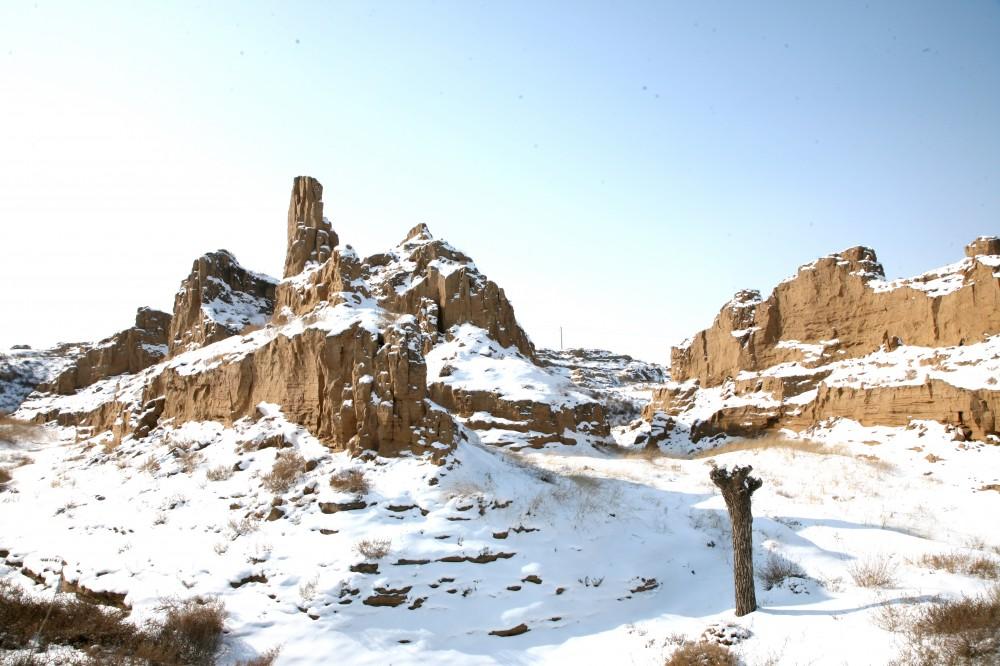 冬季《岁月》魔鬼城