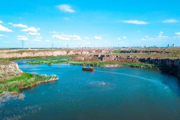 发现宁夏丨100个最美观景拍摄点——水洞沟红山湖