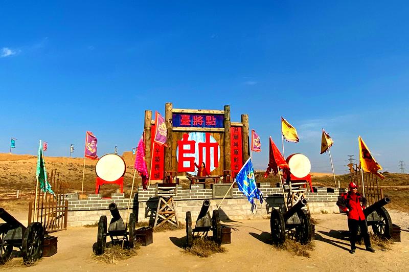 借助道具再现《山海情》场景 闽宁镇将打造影视旅游基地