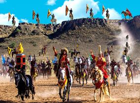 水洞沟-实景演出《北疆天歌》
